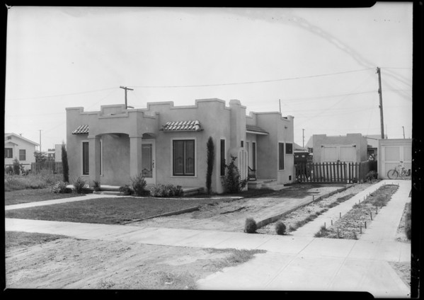 1342 West 61st Street, Los Angeles, CA, 1925