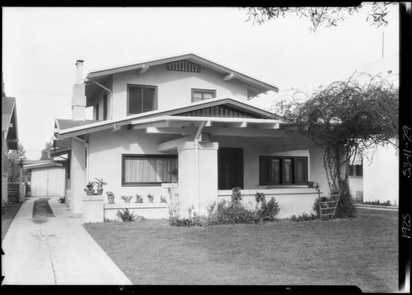 4285 La Salle Avenue, Los Angeles, CA, 1925