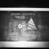 December 1927 blackboard, Southern California, 1928