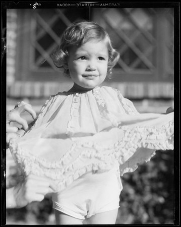 Daughter, 'Marriel', Southern California, 1931