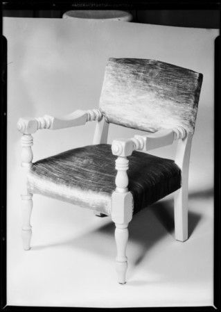 Small chair, Therese Upholstering Co., Southern California, 1931