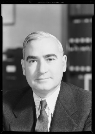Dr. C.L. Pomeron, County Health Department, Southern California, 1931
