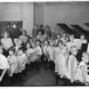 Piano students at Southern California Music, Southern California, 1931