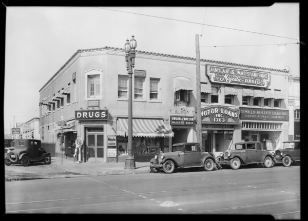 Ungar and Watson offices and property, Southern California, 1930