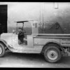 Yellow Cab truck at Burr Creamery, Southern California, 1928