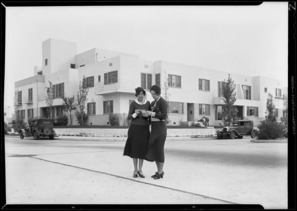 House & flats, Southern California, 1931