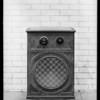 Small radio, Atwater Kent Radio, Southern California, 1928