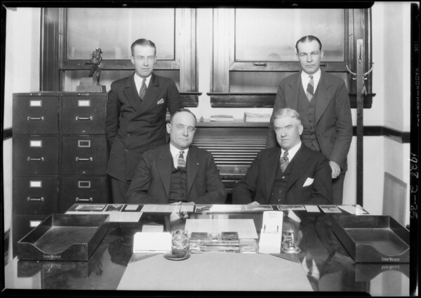 Firemans Fund Insurance Company, Garland Building, Southern California, 1928