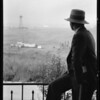 Oil well shots at Monte Mar Vista, Southern California, 1927