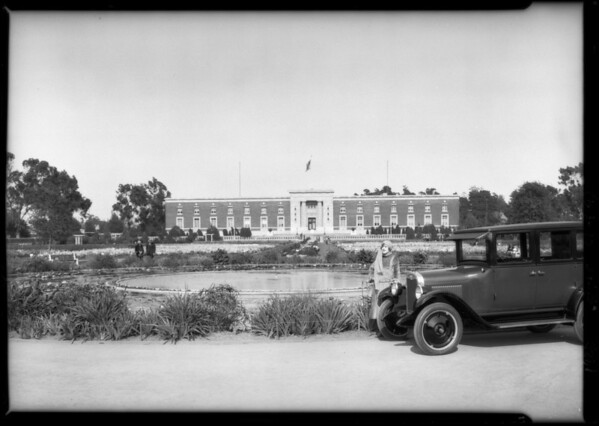 Chevrolet in Exposition Park, Los Angeles, CA, 1925