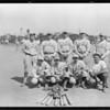 Baseball team, Los Angeles Creamery, Los Angeles, CA, 1925