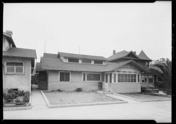 Court #36, 40, 42, 46, Trolley Way, Venice, Los Angeles, CA, 1928