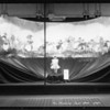 Child's health week and Nightingale hosiery windows, Broadway Department Store, Los Angeles, CA, 1925