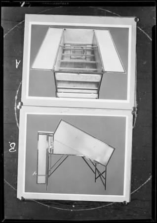 Walnut dehydrator, Southern California, 1930