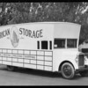 American Van & Storage Co., Southern California, 1928