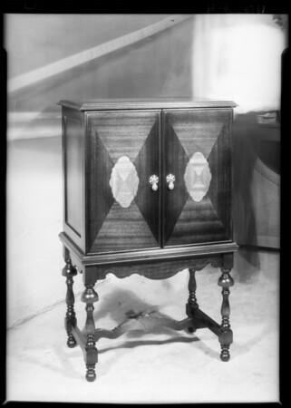 Radio Cabinet, Southern California, 1928