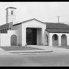 Fire station at 7520 Westview, Southern California, 1929
