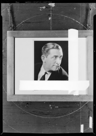 Edward Everett Horton, Southern California, 1931