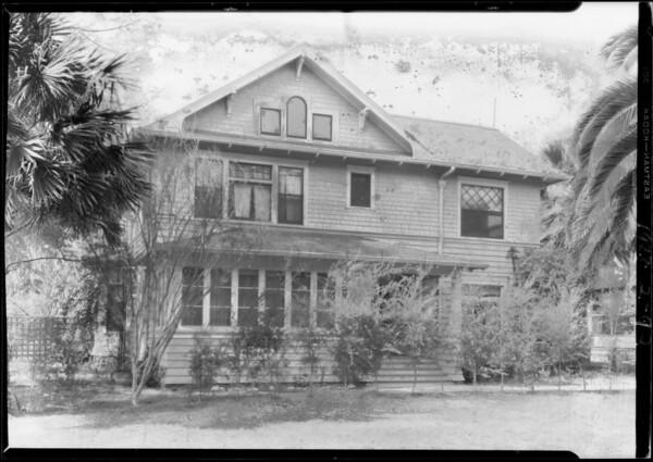 585 North Marengo Avenue, Pasadena, CA, 1928