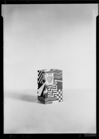 Radio owl and box, Southern California, 1929