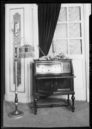 Radio cabinets for Echo Phone Co., Southern California, 1925