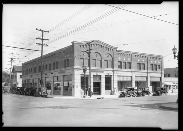 Pacific-Southwest Bank, Vernon and Vermont, 4400 South Vermont Avenue, Los Angeles, CA, 1925