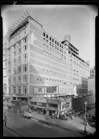 New addition to store, 830 South Hill Street, Los Angeles, CA, 1929