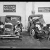 Chevrolet & Essex, west Burbank garage, Burbank, CA, 1930