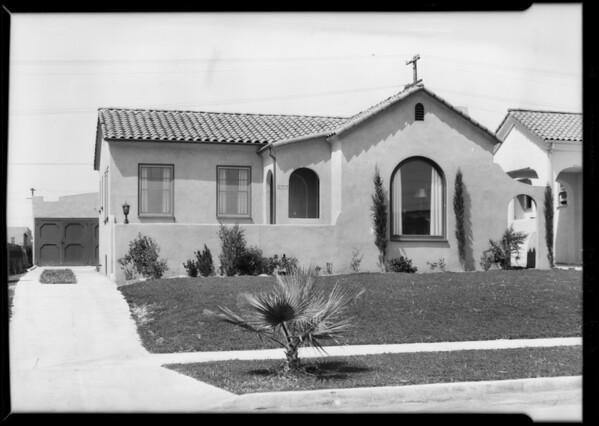 5337 Deane Avenue, Los Angeles, CA, 1929
