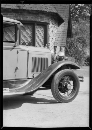 Ford coupe, Mike Maslich owner, Southern California, 1931