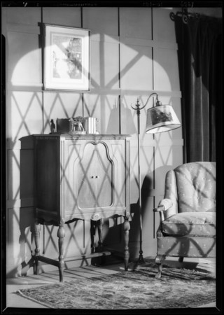 Hadlow Radio, shadows etc., Southern California, 1929