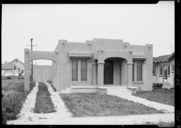 5955 4th Avenue, Los Angeles, CA, 1925