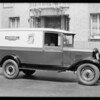 Hormel Truck, Southern California, 1929