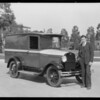 Angelus Coffee Co. new Ford truck, Southern California, 1928
