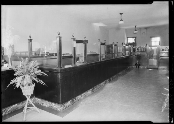 Pacific-Southwest Trust & Savings Bank - Pico & Valencia Branch, 1501 West Pico Boulevard, Los Angeles, CA, 1924