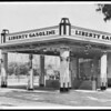 Cheaper service station, Southern California, 1931