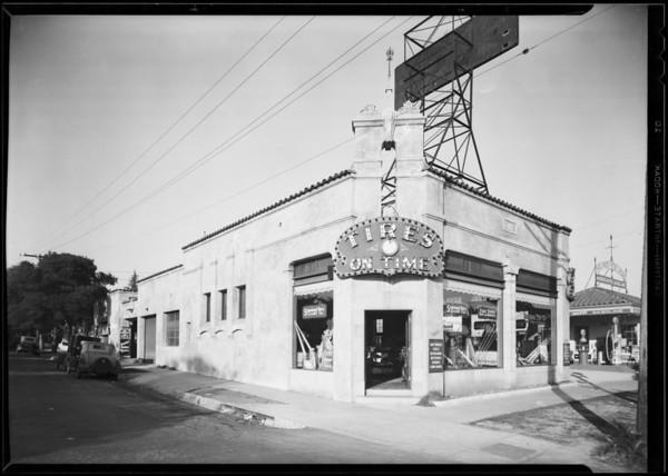 Stores, Bershon Tire Co., Los Angeles, CA, 1930