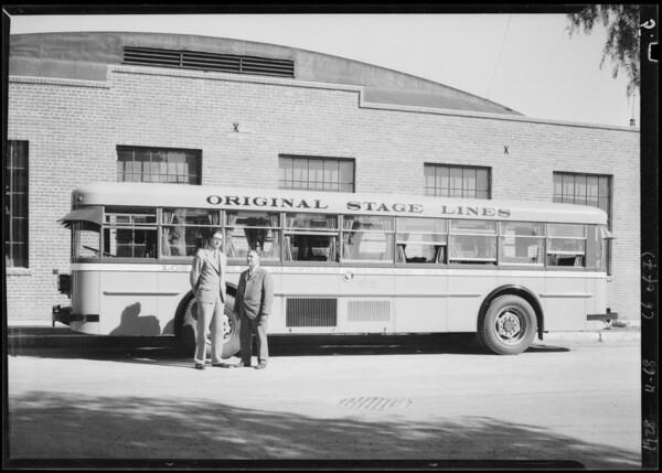 New San Fernando buses Original Stage Line, Southern California, 1928