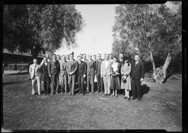 NSC groups, Southern California, 1931