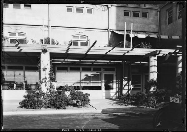 Pacific-Southwest Trust & Savings Bank - Ambassador Branch, Southern California, 1924