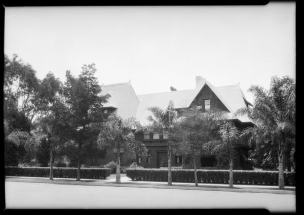 Home of W.T. Bishop, 1342 West Adams Boulevard, Los Angeles, CA, 1925