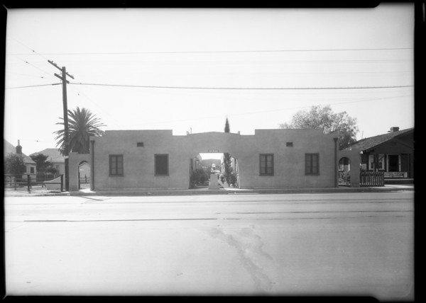 6107-6111 South Avalon Boulevard, Los Angeles, CA, 1928