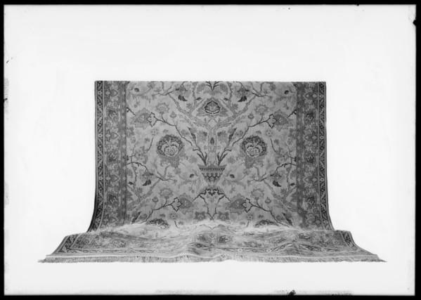 Rug, May Co., Southern California, 1929