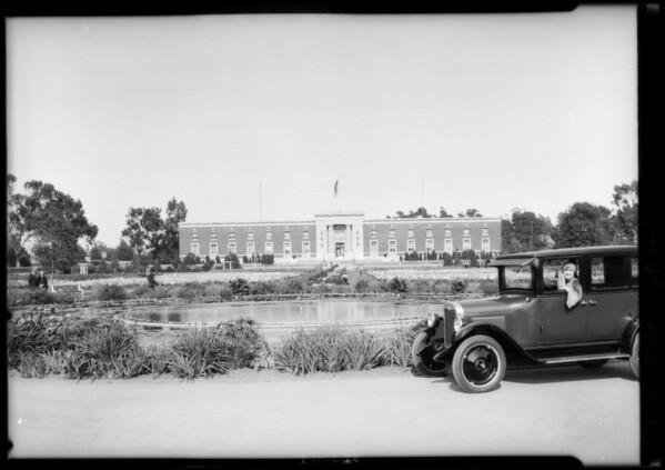Chevrolet in Exposition Park, Los Angeles, CA, 1925