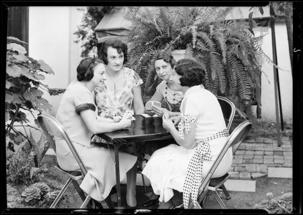 Publicity photos, Savenick Tire Co., Southern California, 1931