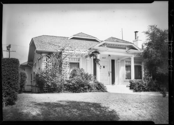 4817 Elmwood Avenue, Los Angeles, CA, 1928