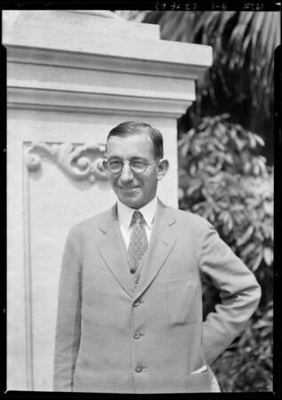Mr. Boreland, Harriet Elliot Co., Southern California, 1925