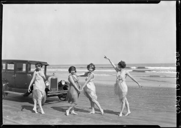 Chevrolet car at Terminal Island, Los Angeles, CA, 1925