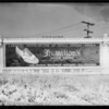 West 6th Street and South Lafayette Park Place, Hi-way Display signs, Los Angeles, CA, 1927