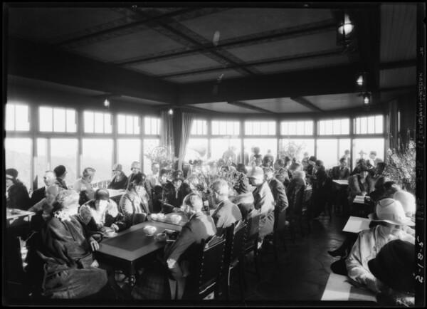Opening of Beverly Ridge, Southern California, 1928